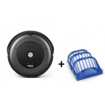 iRobot Roomba 681 + комплект из 5 фильтров