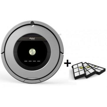 iRobot Roomba 886 + набор фильтров 3 шт.