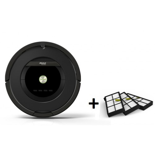 iRobot Roomba 876 + набор фильтров 3 шт.