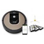 iRobot Roomba 966 + фильтры 3 шт + боковая щетка