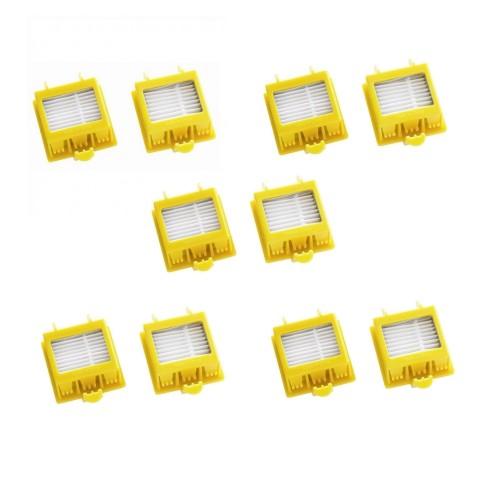 Комплект фильтров HEPA 10 шт для iRobot Roomba 700 серии