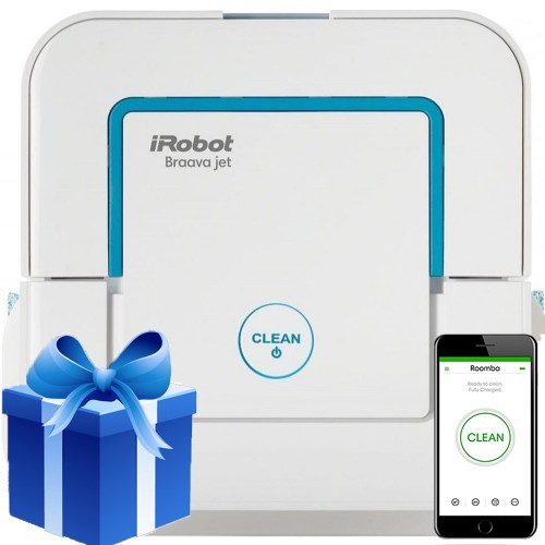 iRobot Braava jet 240 + Подарок