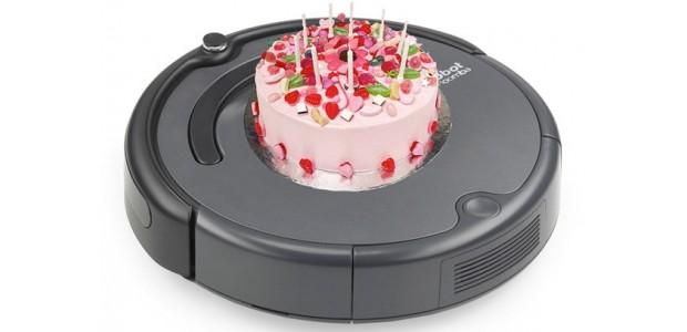 Хороший подарок -  робот пылесос iRobot Roomba