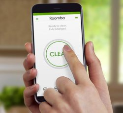 Управление iRobot Roomba 696 через смартфон