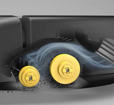 Roomba 605 - технология уборки