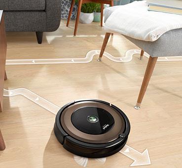 Навигация iRobot Roomba 896