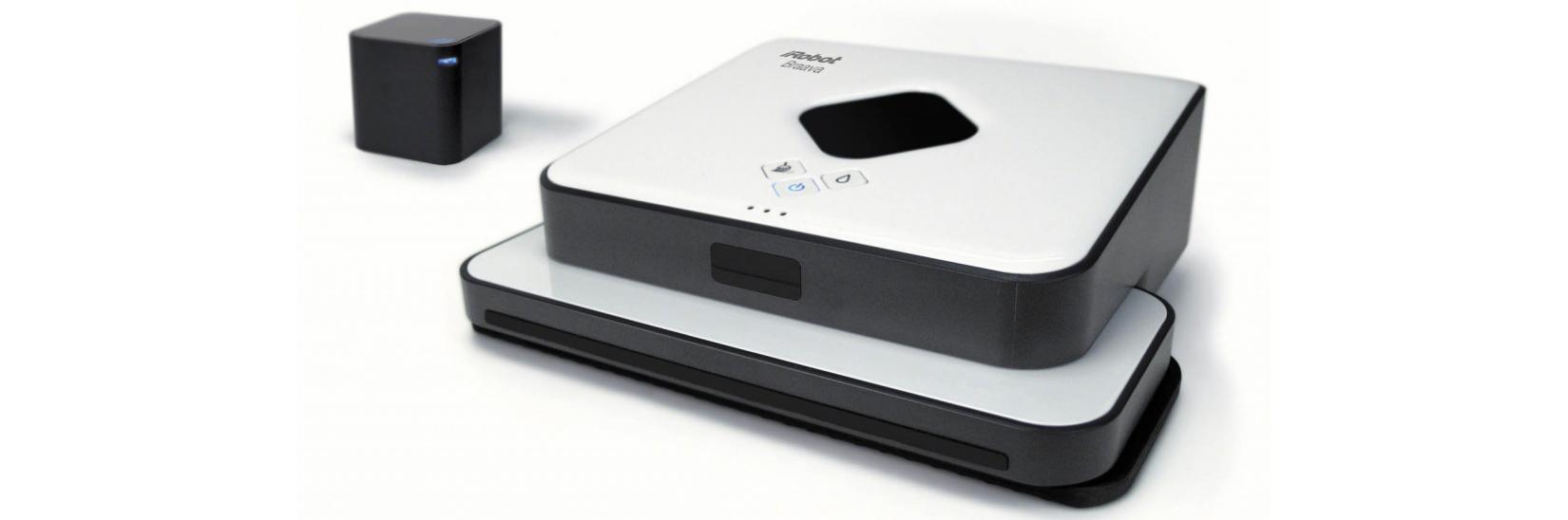 iRobot Braava 390T ориентируется в помещении благодаря навигационному кубу