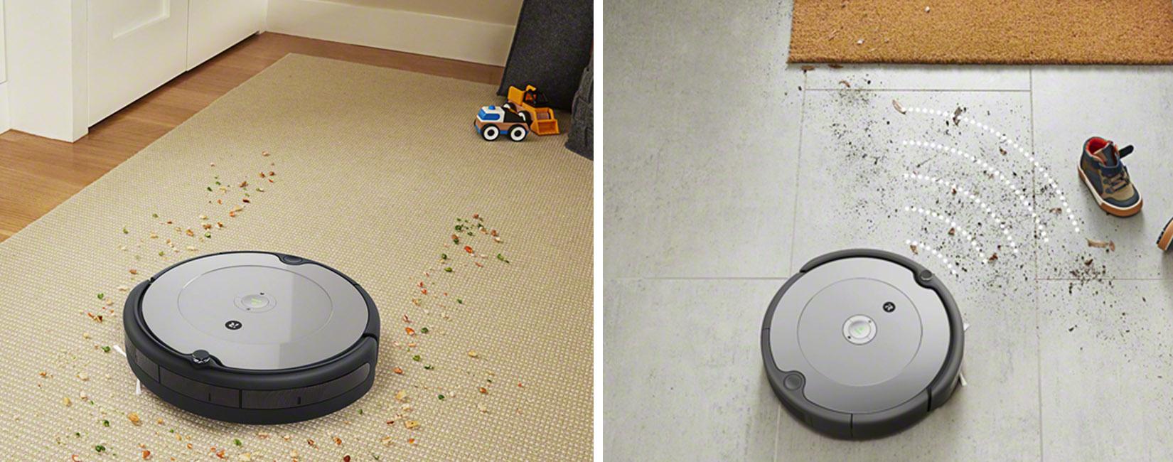 iRobot Roomba 698 находит наиболее загрязненные участки