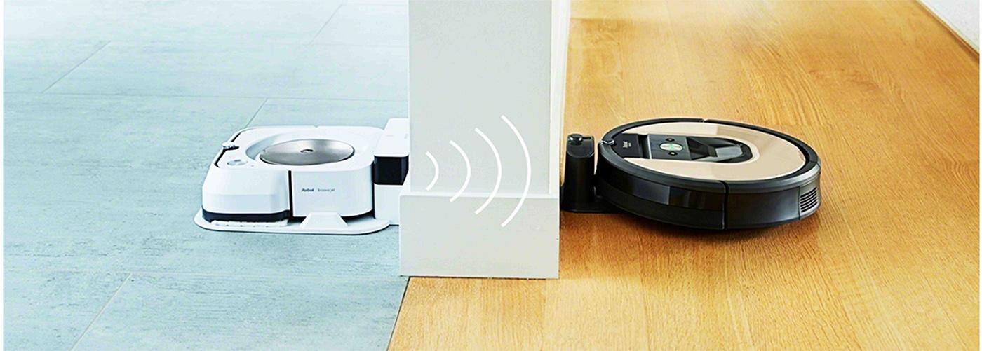 Синхронизация робота пылесоса irobot roomba 976 с irobot braava jet m6