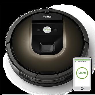 Робот пылесос для сухой уборки iRobot Roomba 980