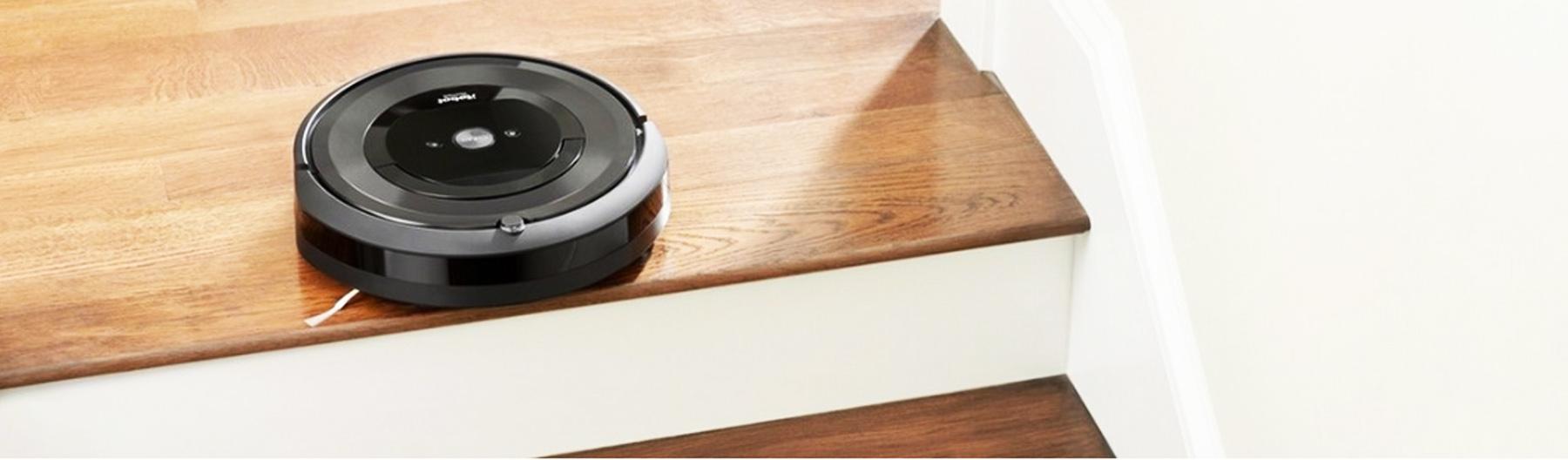 iRobot Roomba e5 не падает со ступенек