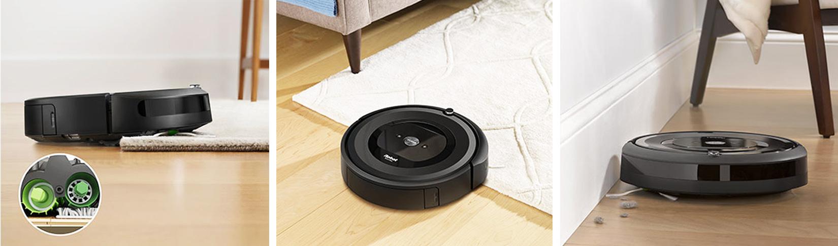 Трёхэтапная система очистки робота пылесоса iRobot Roomba e5