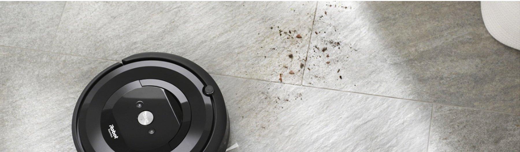 iRobot Roomba e5 распознает более загрязнённые участки