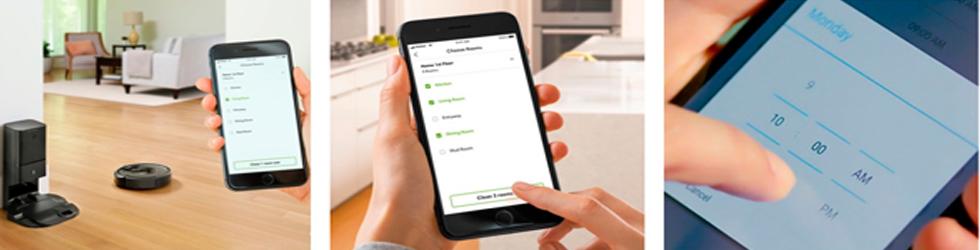 Управление со смартфона Roomba i7