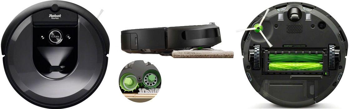 Робот пылесос для сухой уборки iRobot Roomba i7