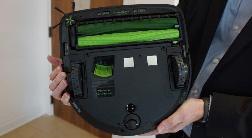 Увеличение мощности на коврах iRobot Roomba s9+