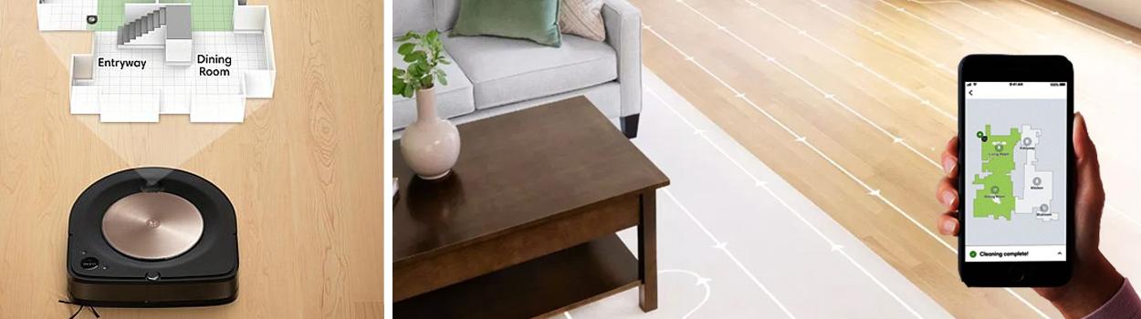 Smart-управление Roomba s9