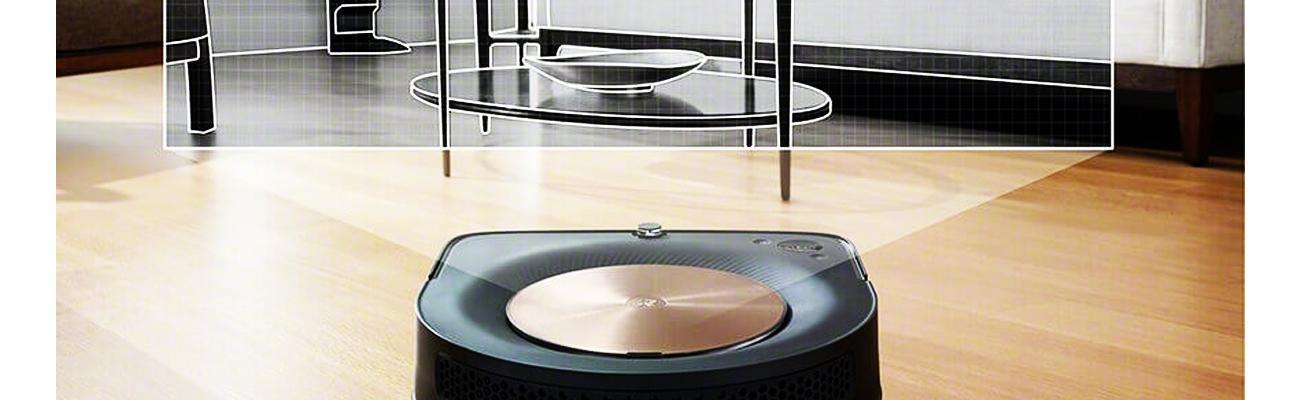 Roomba s9 сканирует поверхность